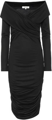 Diane von Furstenberg Wool-blend midi dress