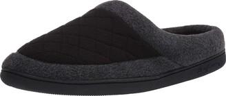 Dearfoams Women's Quilted Fleece Clog Slipper