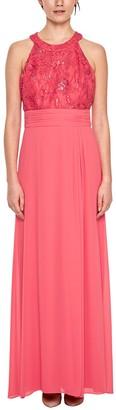 s.Oliver BLACK LABEL Women's 70.802.81.3237 Full-Length Sleeveless Party Dress