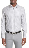 Canali Men's Shepherds Check Sport Shirt