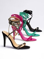 Victoria's Secret Colin Stuart Strappy Ankle-wrap Sandal