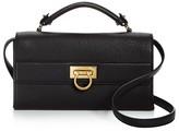 Salvatore Ferragamo Ably Leather Shoulder Bag