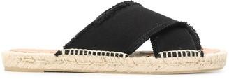 Castaner Palmera criss-cross strap sandals