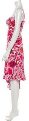 CARMEN MARCH 2019 Knee-Length Dress w/ Tags Pink