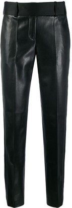 Ermanno Scervino leather effect trousers