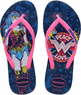 Havaianas Wonder Woman Slim Fun Water Resistant Flip Flop