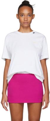 Off-White White Acrylic Arrows Slim T-Shirt