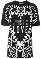 Givenchy I Believe in the Power of Love T-shirt - women - Cotton - L