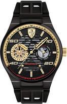 Ferrari Men's Speciale Multi Black Silicone Strap Watch 44mm