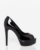 Le Château Brazilian-Made Patent Leather-Like Pump