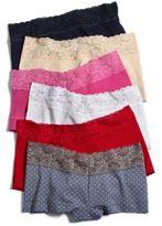 Maidenform Cotton Dream Lace Boyshort 40859