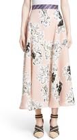Roksanda Women's Jerrick Silk Georgette Skirt