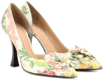 Brock Collection Exclusive to Mytheresa Floral pumps