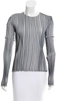 Emilio Pucci Long Sleeve Plisse Top w/ Tags