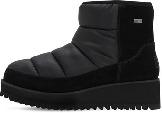 UGG 50mm Suede & Nylon Moon Boots