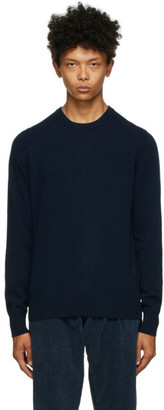 DOPPIAA Navy Wool Appio Sweater