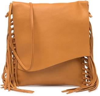 Hobo Rapture Leather Fringe Crossbody Bag
