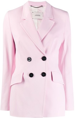 Dorothee Schumacher Double-Breasted Fitted Jacket