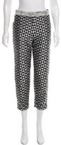 Haider Ackermann Patterned Cropped Pants