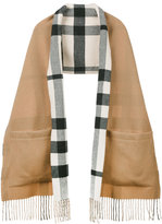 Burberry check scarf - women - Cashmere/Merino - One Size