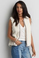 American Eagle Outfitters AE Faux Fur Vest