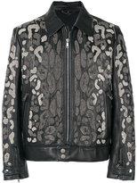 Roberto Cavalli embellished jacket