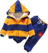 VANGULL Boys Chidren Kids Hoodies Sweater Pants Winter Outwear Coats Snowsuit Sets