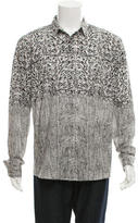 Roberto Cavalli Printed Button-Up Shirt