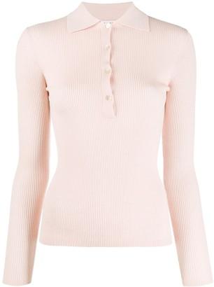 P.A.R.O.S.H. Fine Knit Polo Shirt