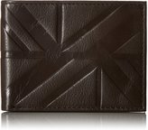 Ben Sherman Men's Woodside Park Full Grain Cowhide Leather Five Pocket Wallet with Rfid Protection