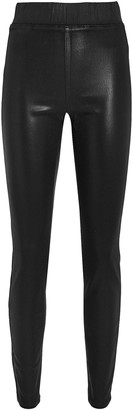 L'Agence Rochelle Coated High-Rise Leggings