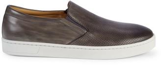 Magnanni Turo Leather Slip-On Sneakers