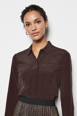 Karen Millen Safari Silk Shirt