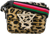 Sara Battaglia leopard print bag