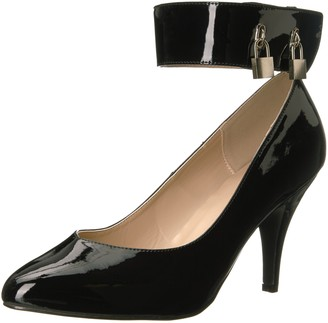 Pink Label Pleaser Women's Dre432/b Dress Pump