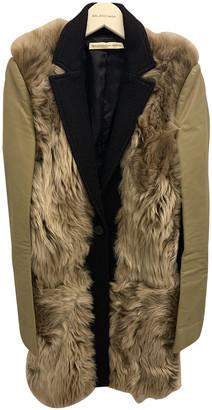 Balenciaga Camel Leather Coats