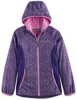 Free Country Girls 4-16 Lightweight Space-Dyed Softshell Jacket