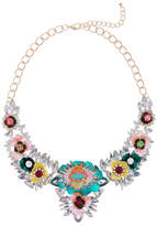 Cara Accessories Flower Bauble Statement Necklace