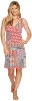 Roper 0978 Floral Aztec Patch Print Tank Dress Women's Dress
