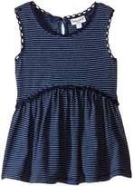 Splendid Littles Inidgo w/ Lace Trim Swing Top (Infant)