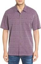 Tommy Bahama Men's 'Geo-Rific Jacquard' Original Fit Silk Camp Shirt