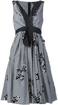 Marc Jacobs floral gingham dress - women - Cotton/Nylon - 6