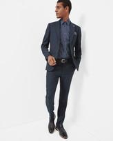 Jacquard Wool Trousers