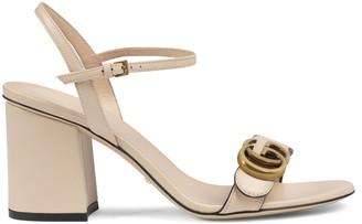 Gucci Leather mid-heel sandal