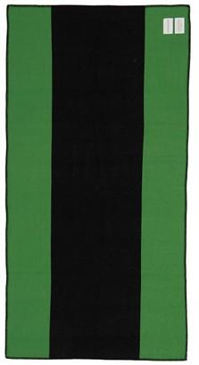 Calvin Klein X Pendleton Peter Wool-cotton Saddle Blanket - Black Green