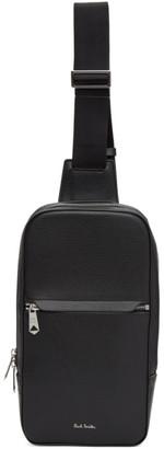 Paul Smith Black Leather Sling Bag