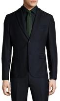 J. Lindeberg Hopper Soft Wool Stretch Notch Lapel Sportcoat