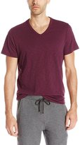 Vince Men's Short Sleeve Slub Relaxed V-Neck T-Shirt