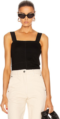 Lemaire Tube Tank Top in Black | FWRD
