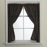 Bed Bath & Beyond Westerly Mocha Bathroom Window Curtain Pair